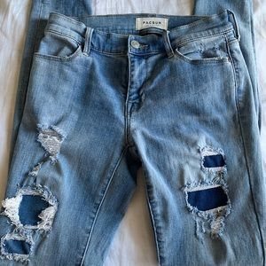Pacsun denim distressed Jeggings